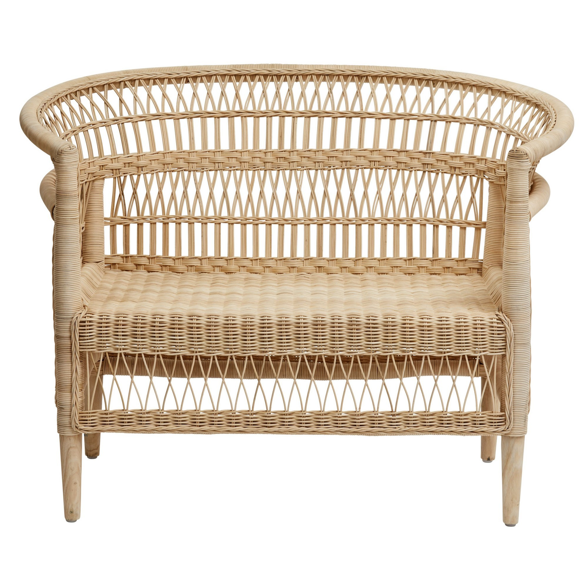 Indah Rattan Love Chair