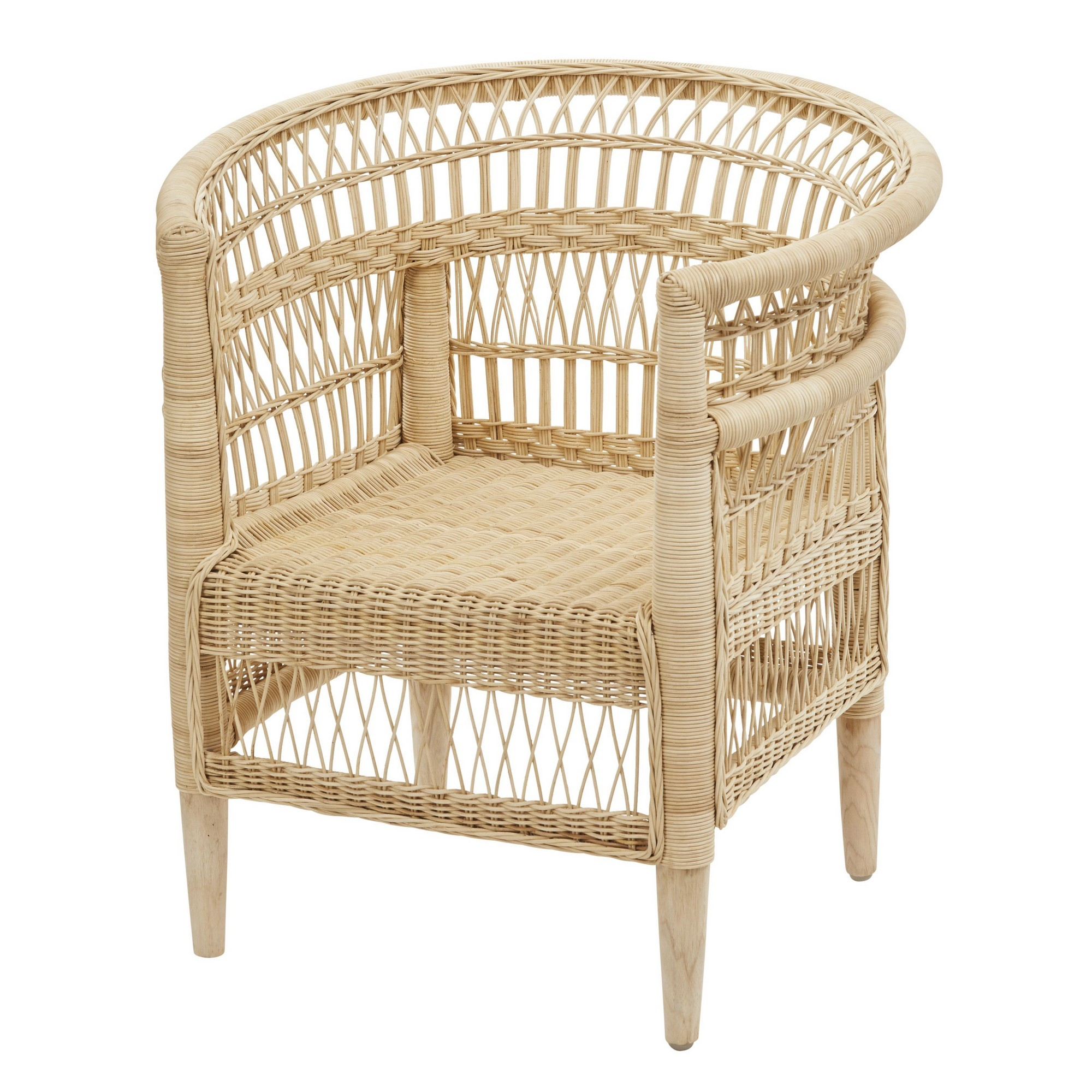 Indah Rattan Armchair