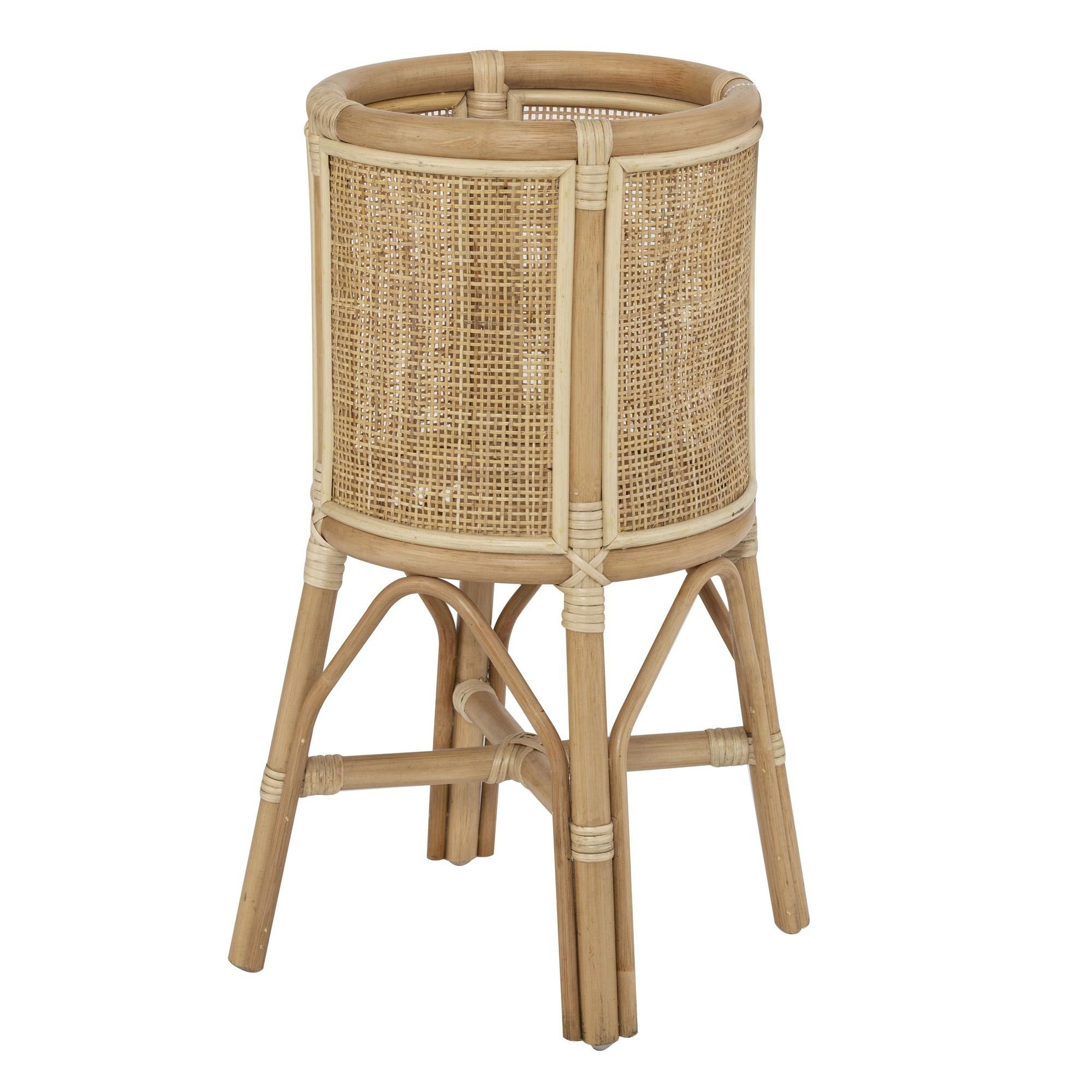 Bekasi Bamboo Rattan Planter Stand