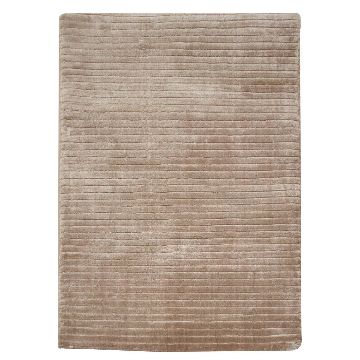 Rosnay Hand Knotted Modern Rug, 170x120cm, Cappuccino