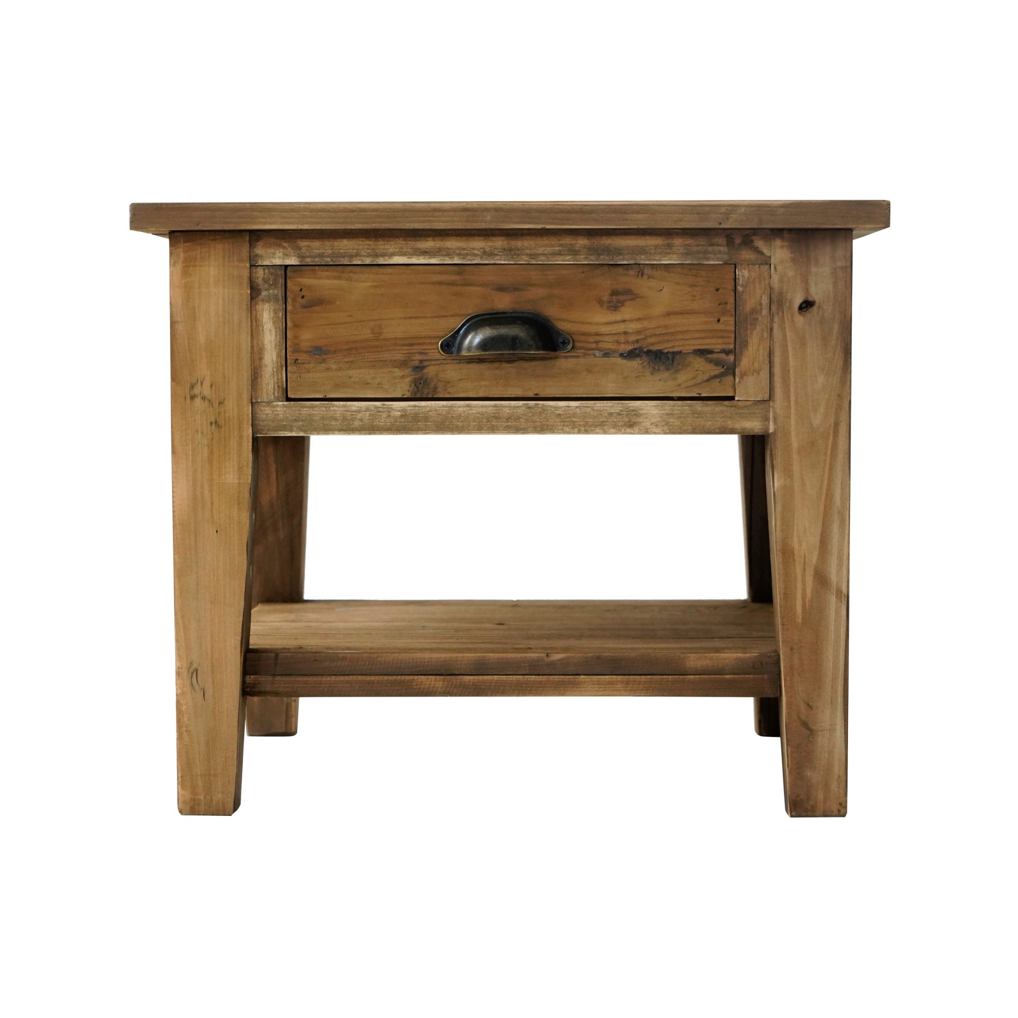 Montauk Rustic Fir Timber Side Table