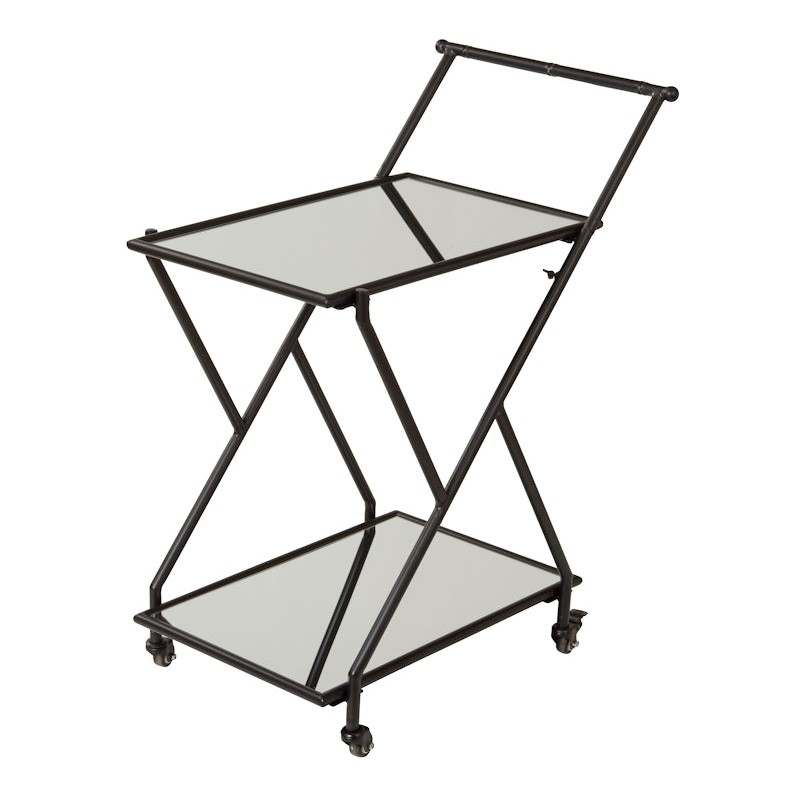 Jacob Metal Drinks Trolley