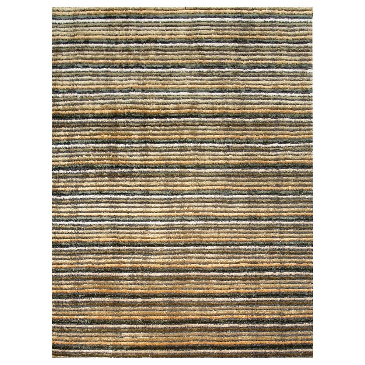 Alfonso Modern Wool & Viscose Rug, 230x160cm, Autumn Field
