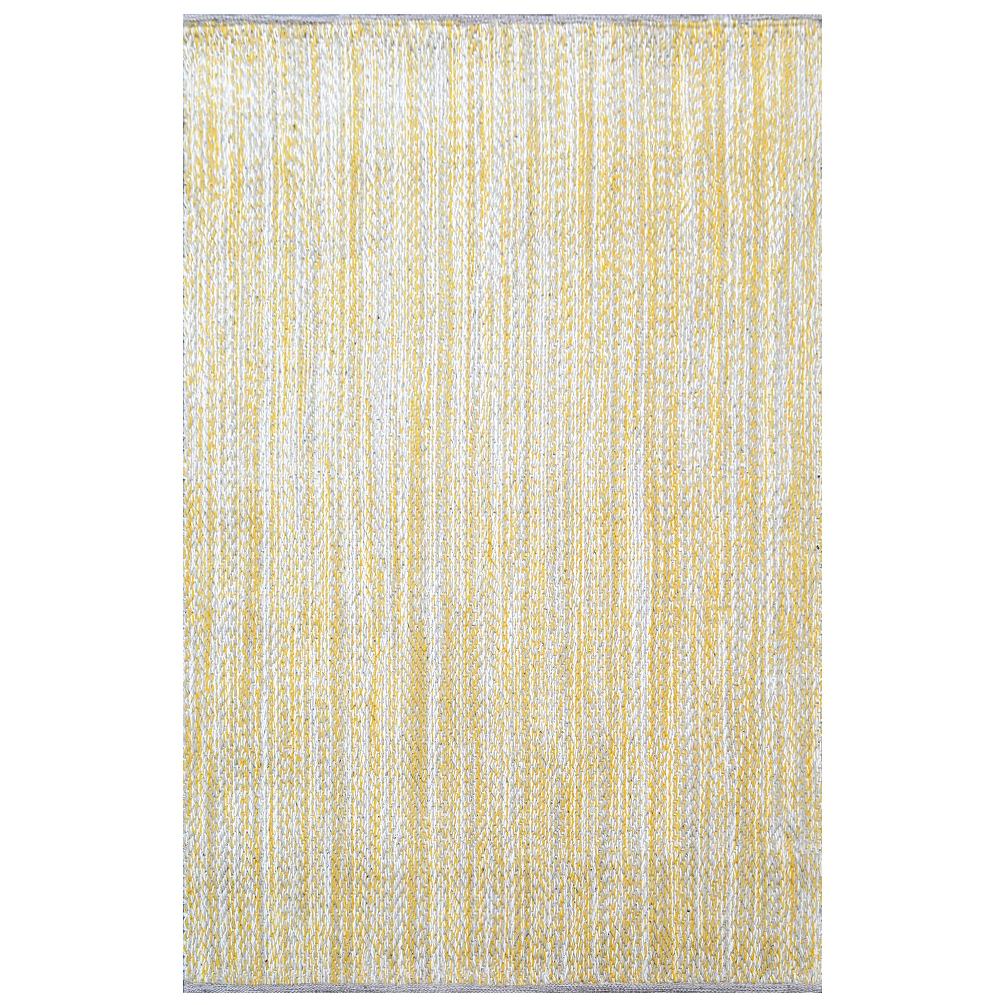 Cypress Handwoven Fine Wool Rug, 230x160cm, Yellow / Beige