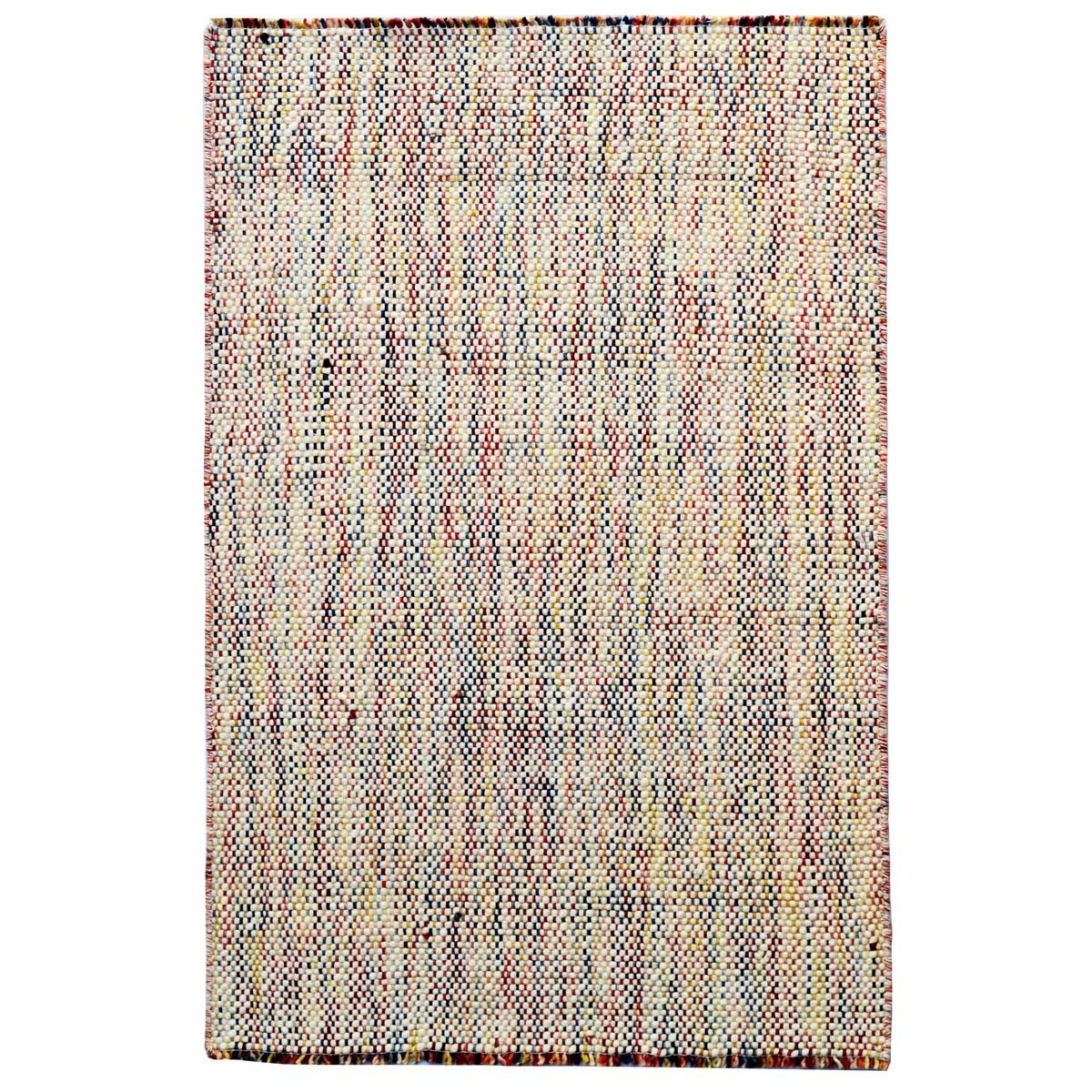 Checkers Handwoven Wool Rug, 150x180cm