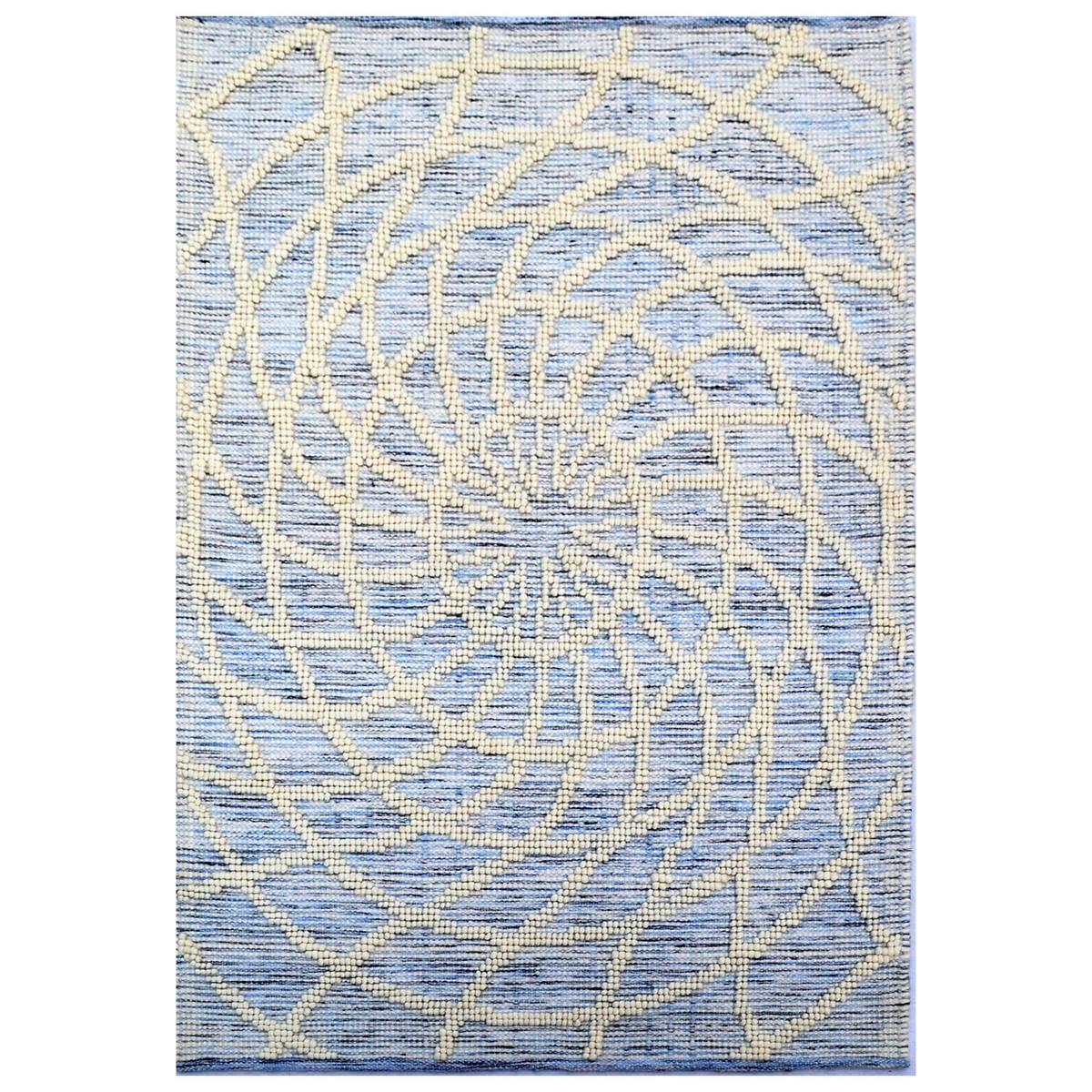 Zaal Handwoven Wool Rug, 110x160cm