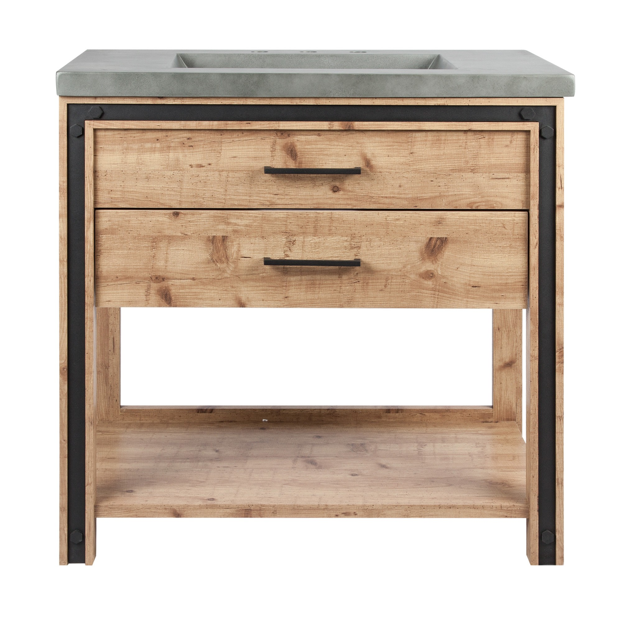 Lake Bathroom Vanity Cabinet with Basin, 90cm