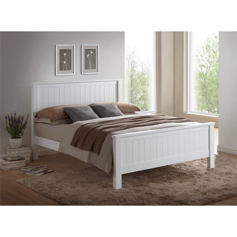 Brodie Wooden Bed, Double