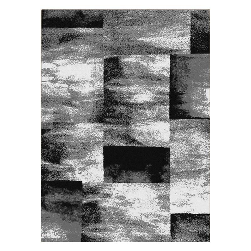 Orlando Lennox Modern Rug, 120x170cm, Grey