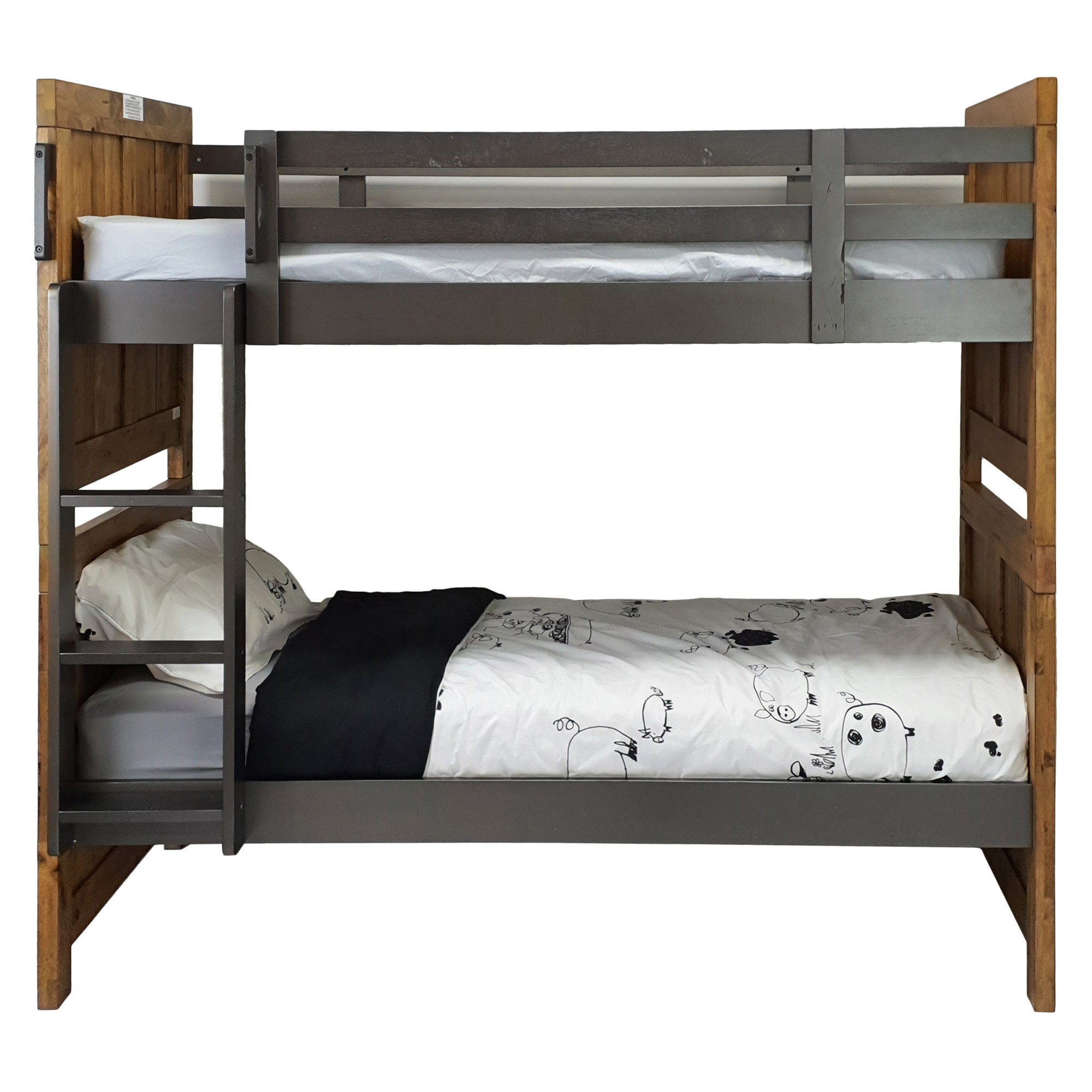 Jayden Wooden Bunk Bed, King Single