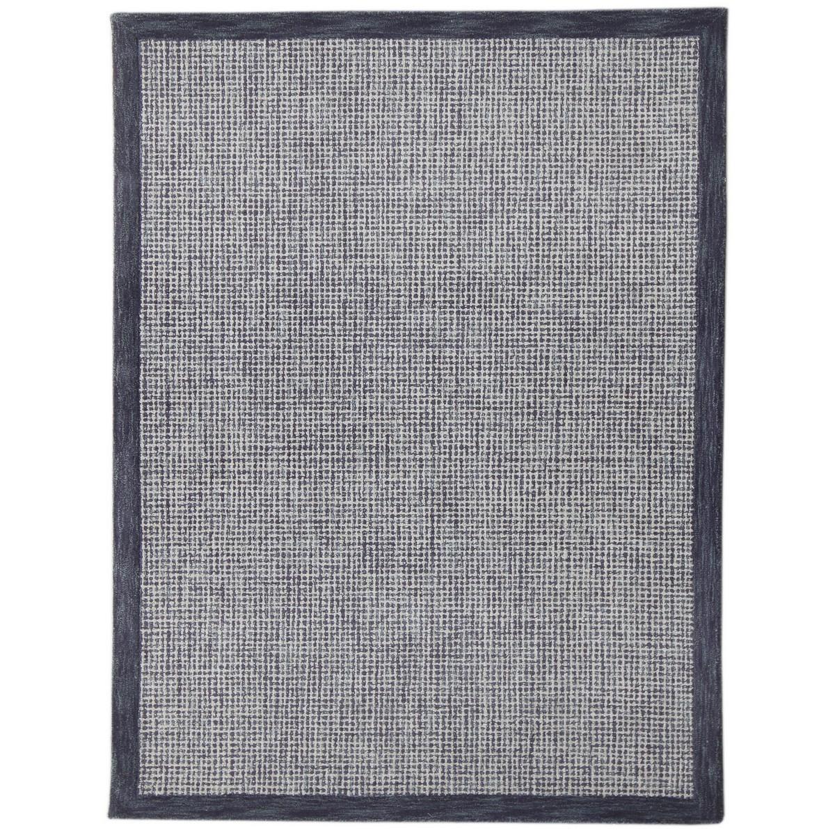 Idina Hand Tuffted Wool Rug, 160x230cm, Navy
