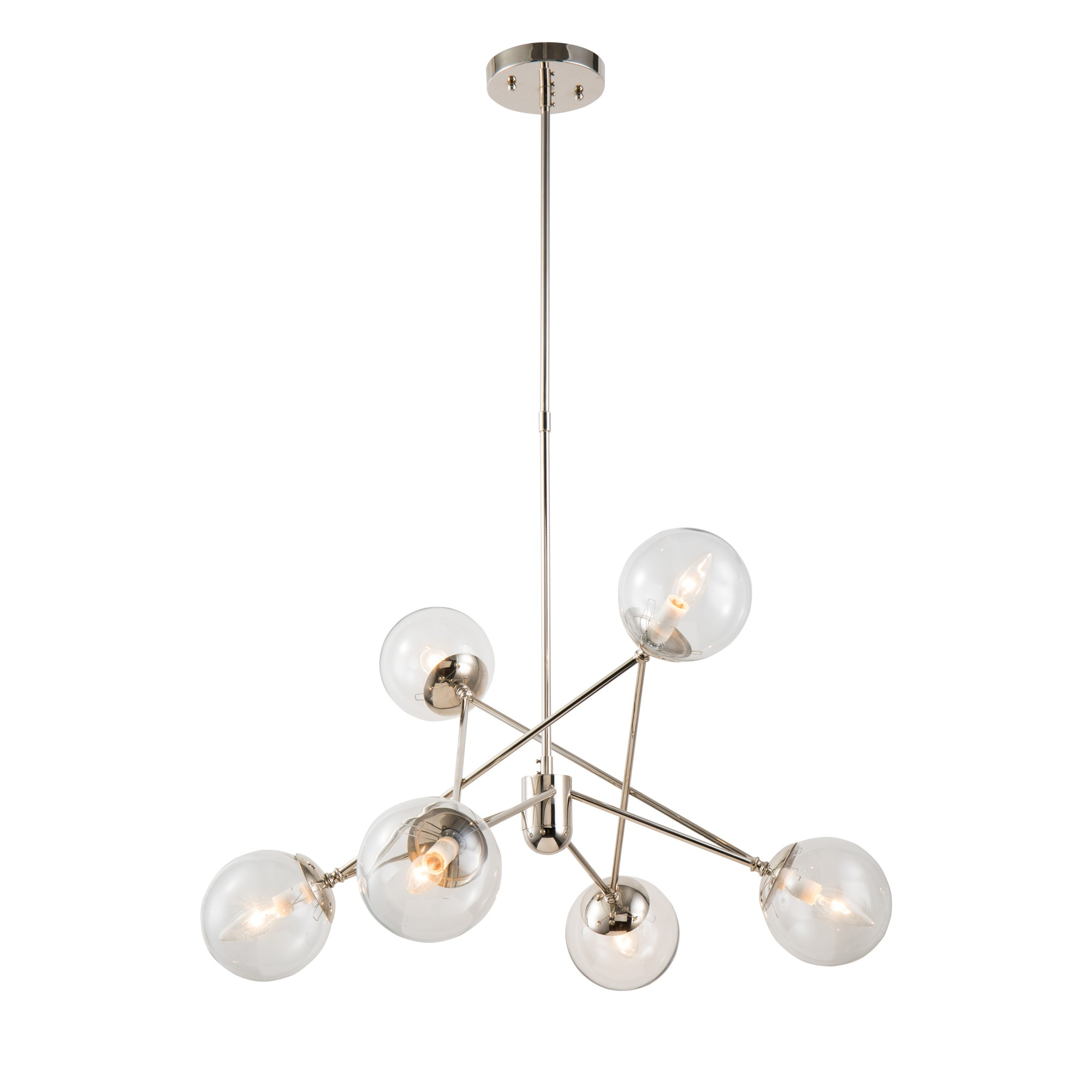 Farhan Iron & Glass Pendant Light