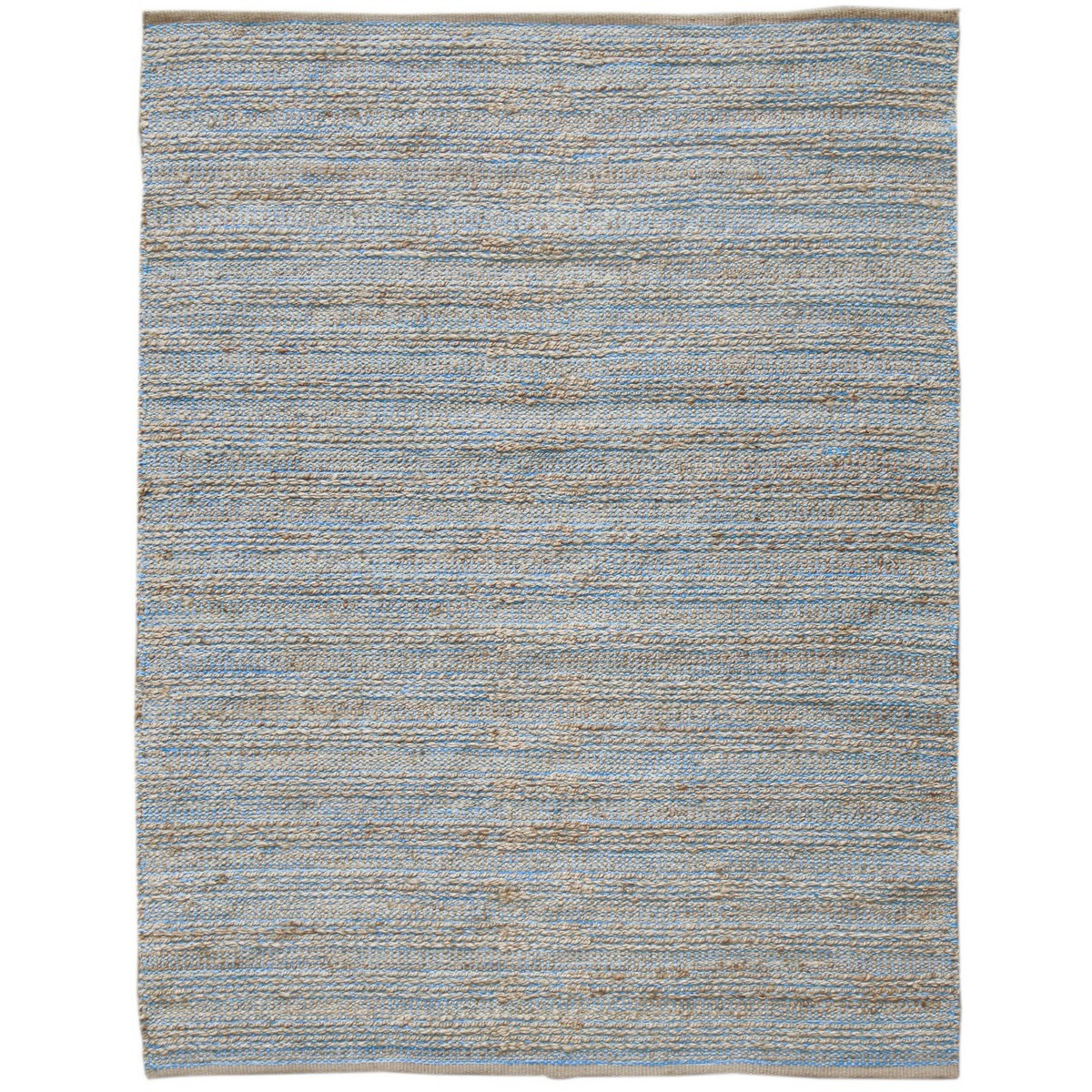 Natural Charm Handwoven Jute Rug , 160x230cm, Blue