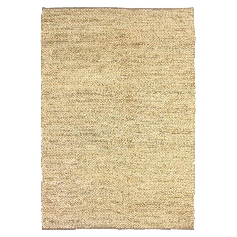 Deluxe Rope Handwoven Jute Rug, 300x400cm, Natural Cream