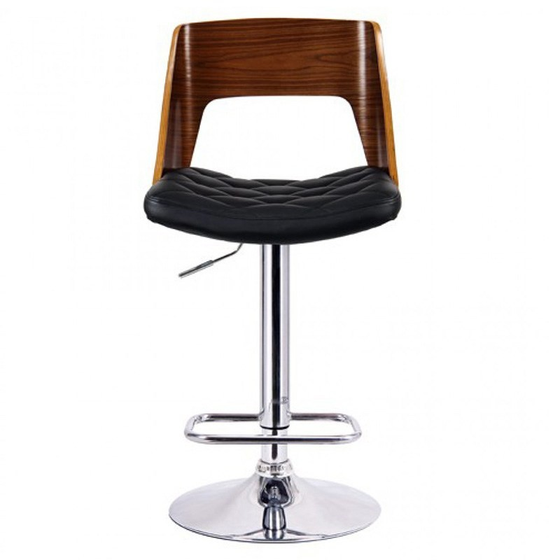 Mornington Gas Lift Swivel Bar Chair with PU Seat