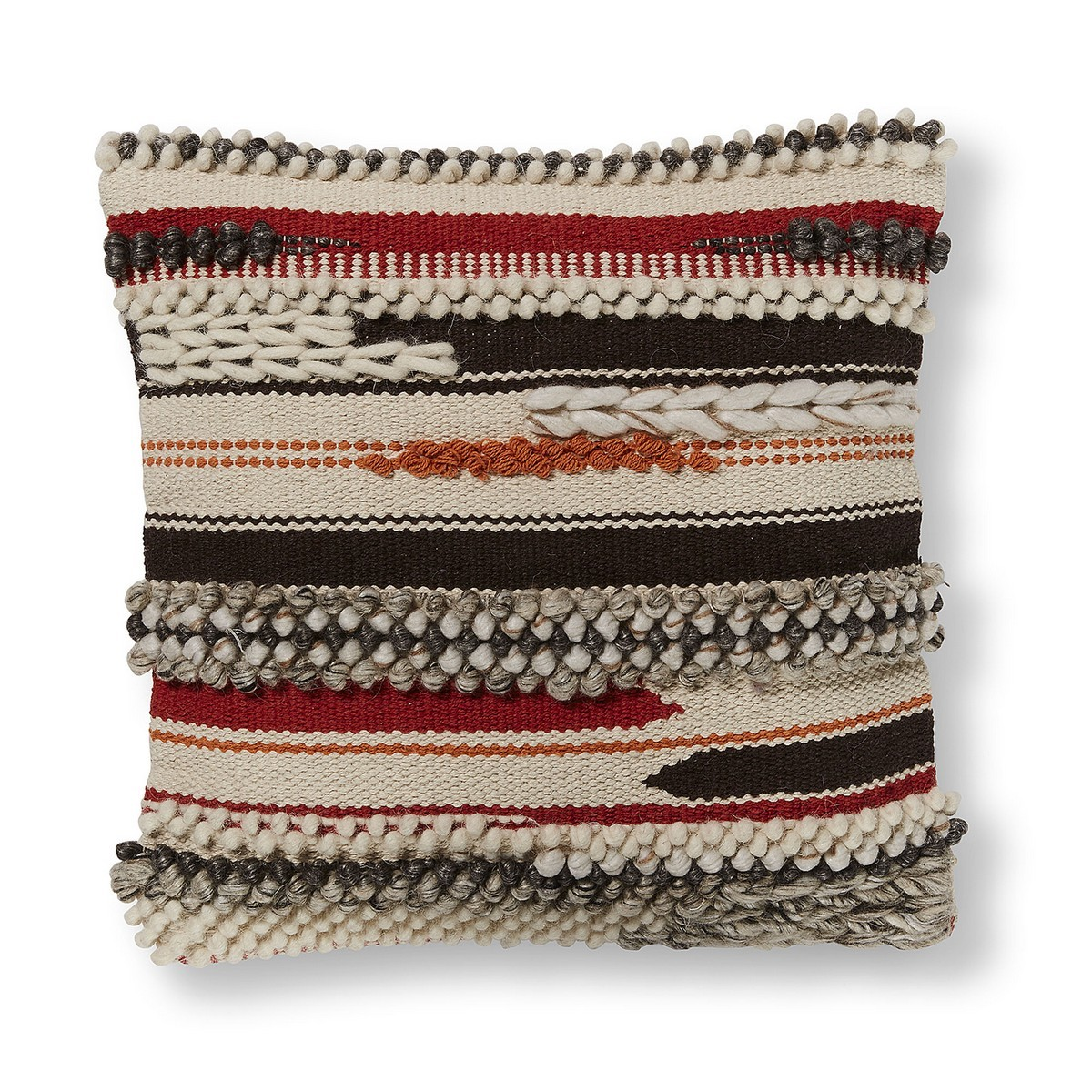 Meela Wool & Cotton Scatter Cushion Cover