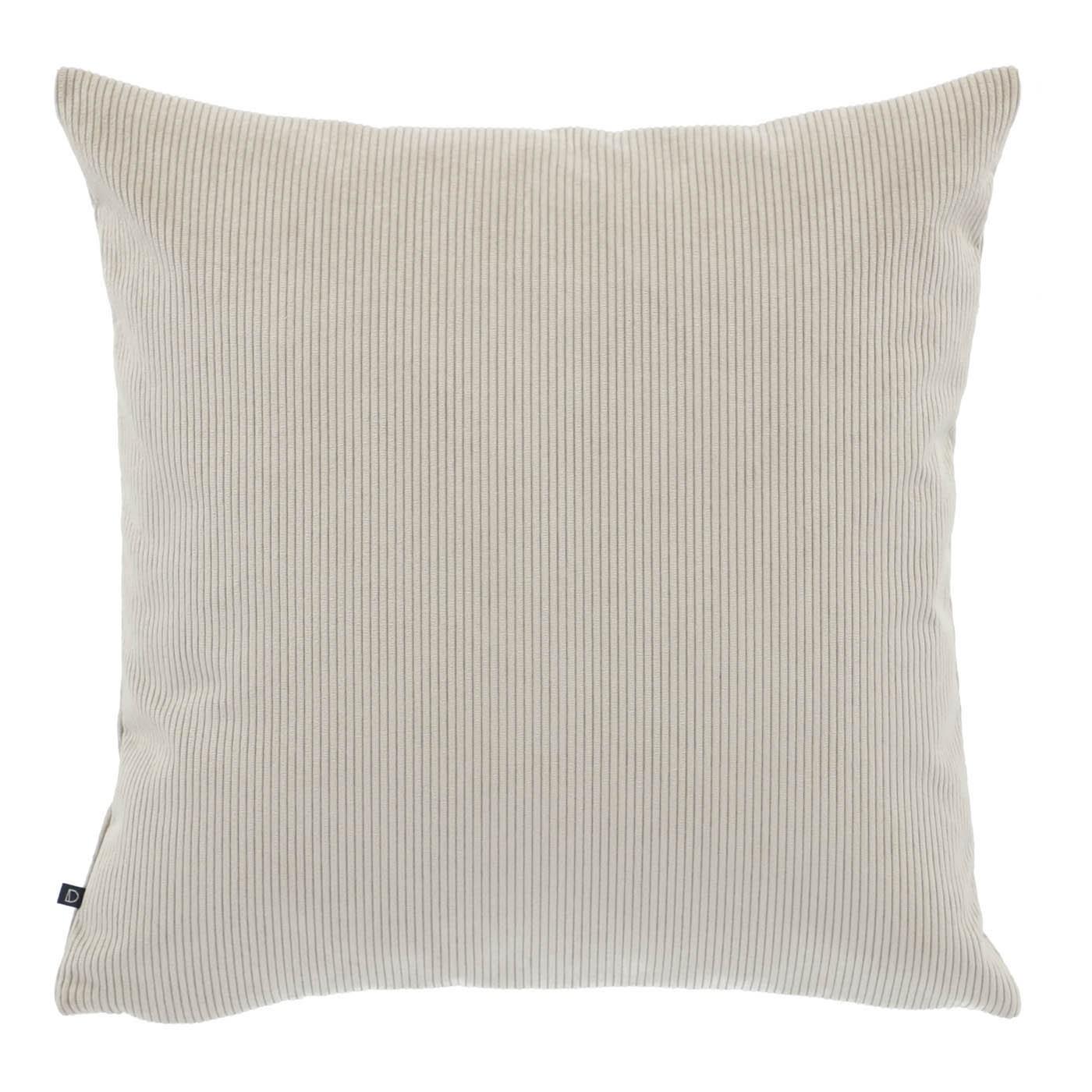 Chelsea Corduroy Fabric Scatter Cushion, Beige