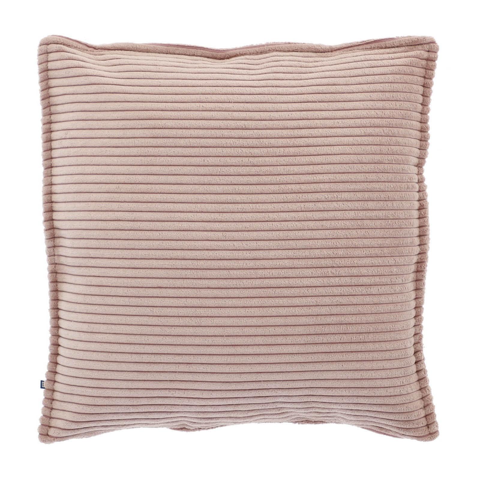 Melrose Corduroy Fabric Scatter Cushion, Blush
