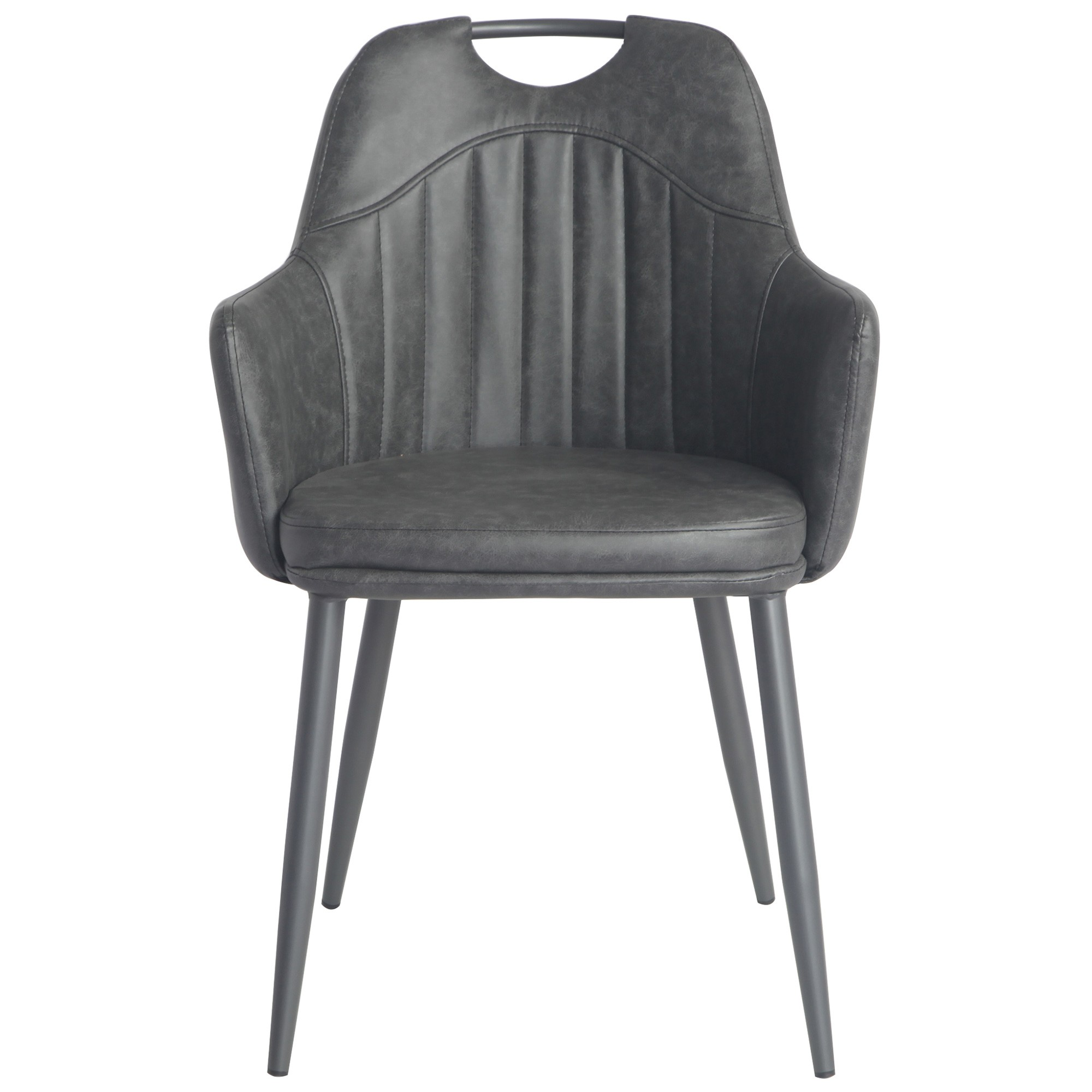 Perkins Eco Leather Dining Armchair