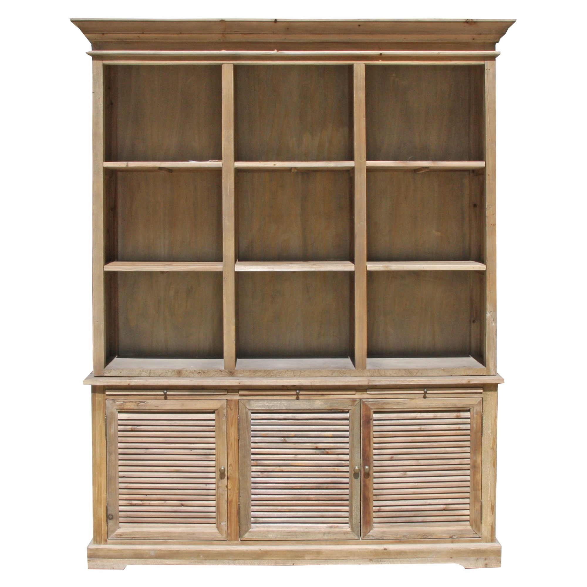 Yukon Recycled Fir Timber Display Cabinet