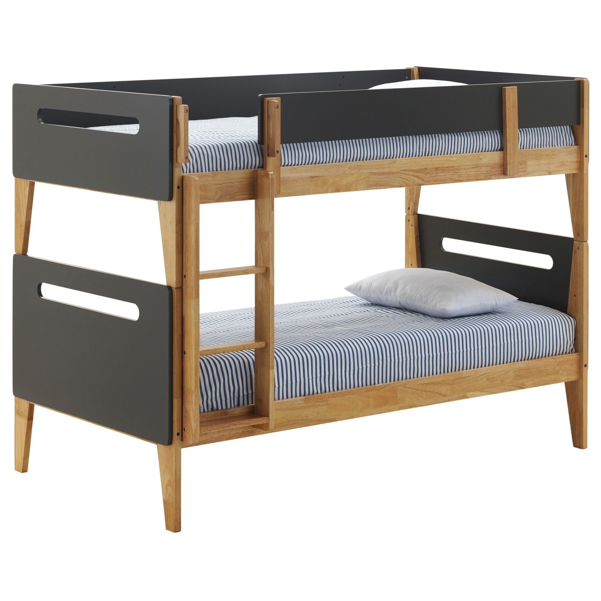 Casla Wooden Bunk Bed, Single