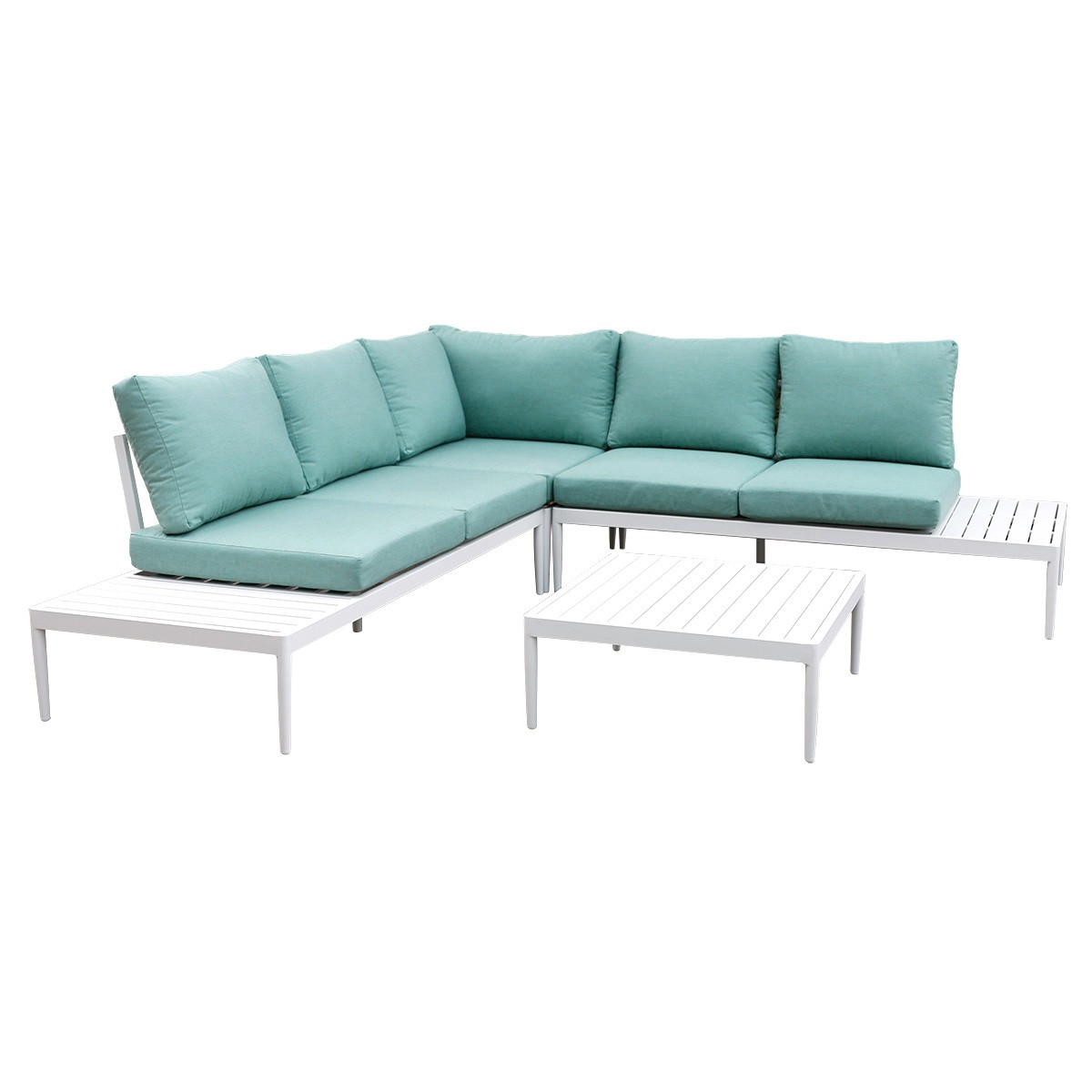 Coogee 4 Piece Aluminium Outdoor Lounge Set