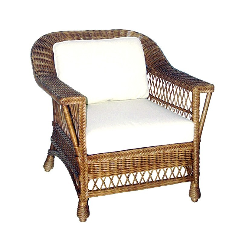 Bexley Rattan Armchair with Cushion