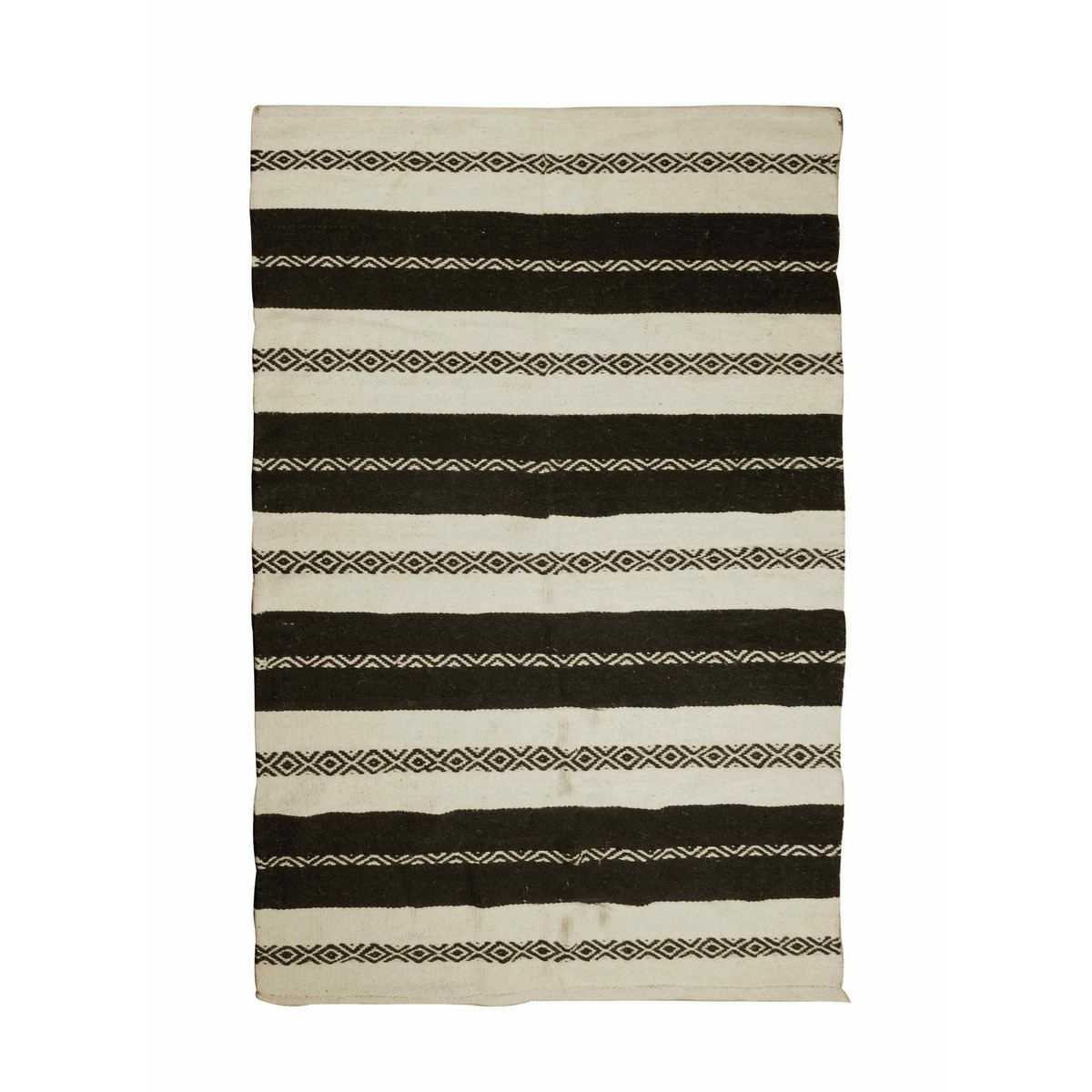 Eton Stripe Wool Rug, 120x180cm