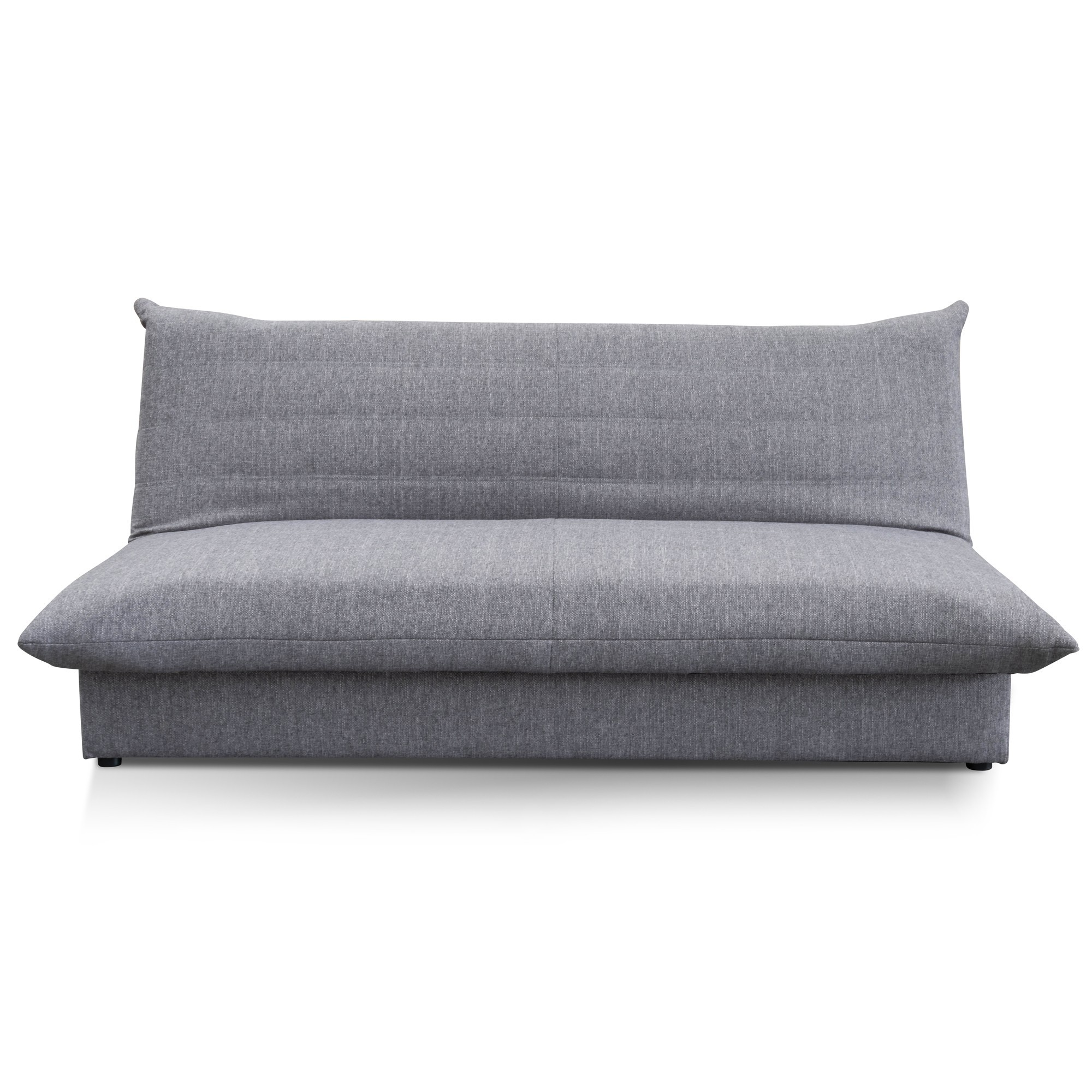 Greenwell Fabric Clic Clac Sofa Bed, 2 Seater, Grey