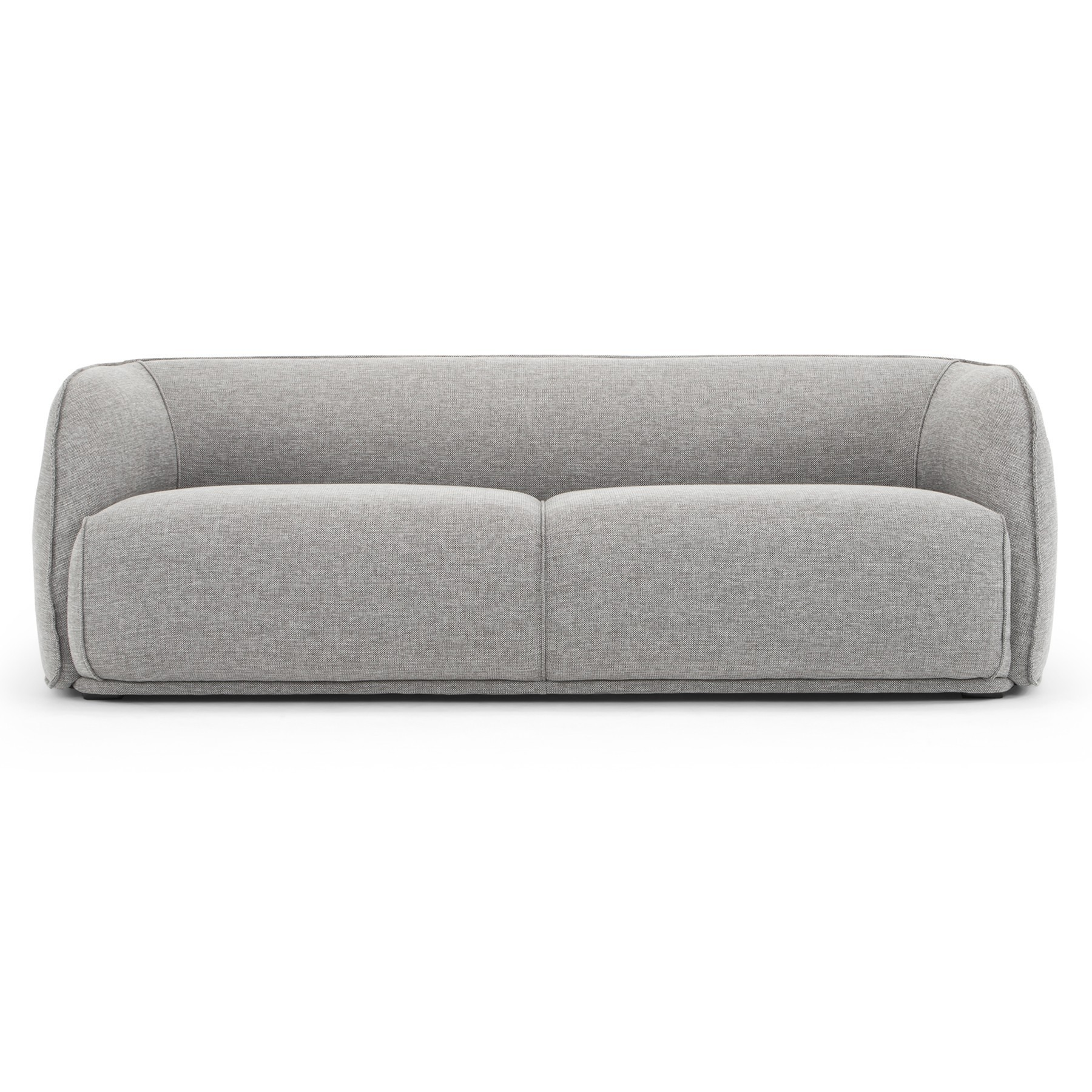 Havero Fabric Sofa, 3 Seater, Grey