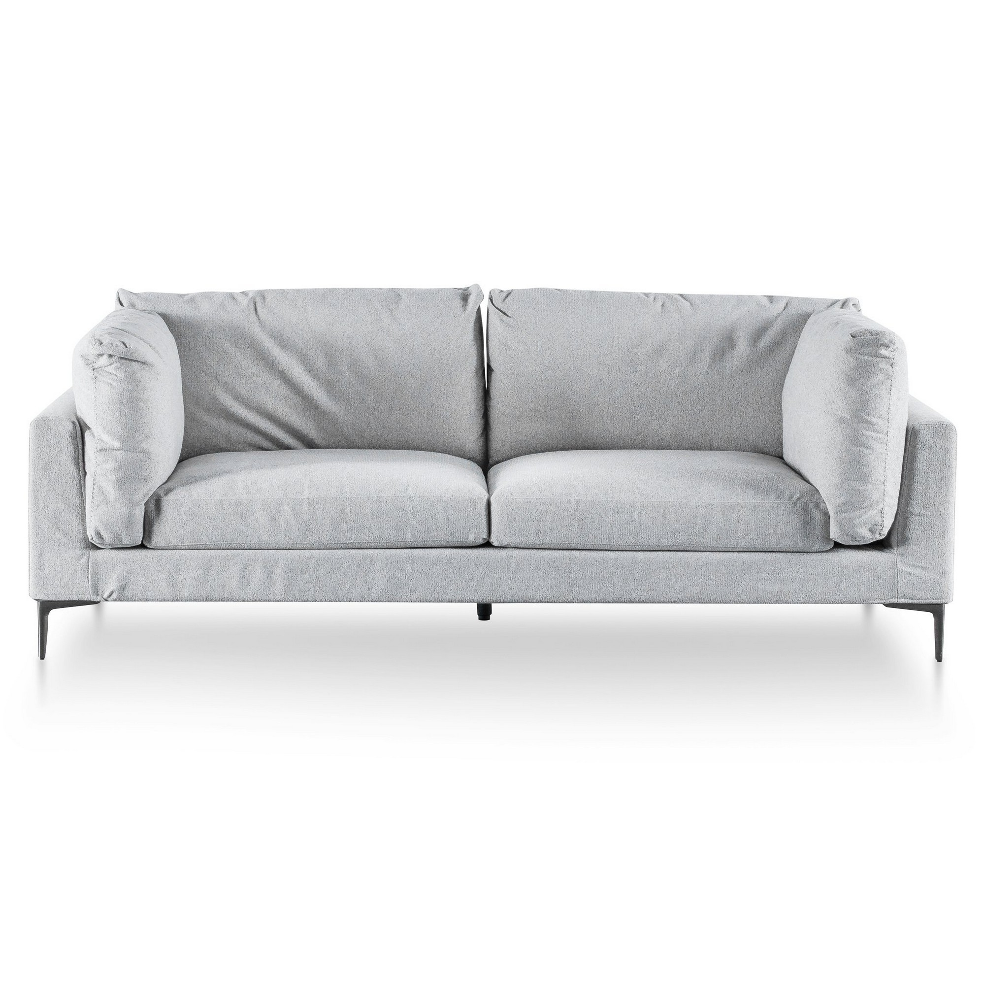 Henley Fabric Sofa, 3 Seater, Gull Grey
