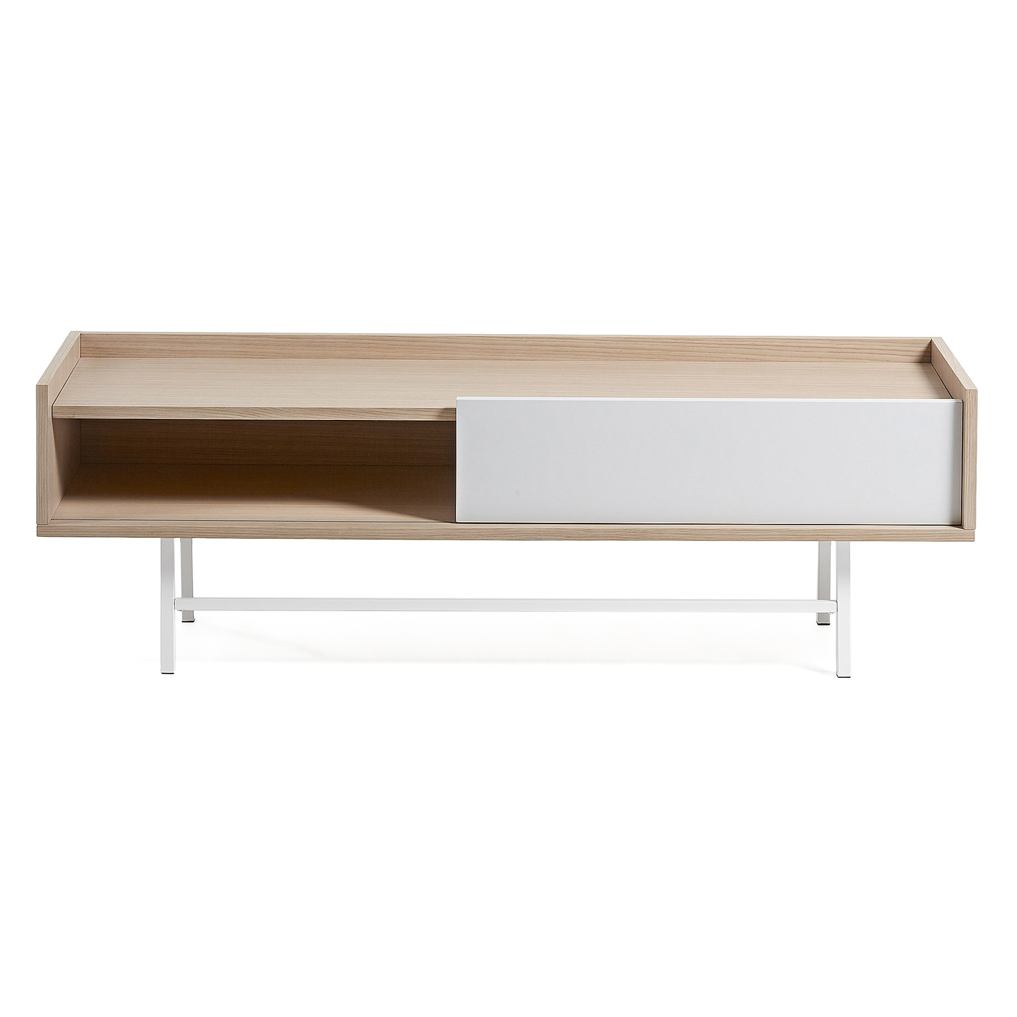 Buxton Sliding Door Lowline TV Unit, 140cm
