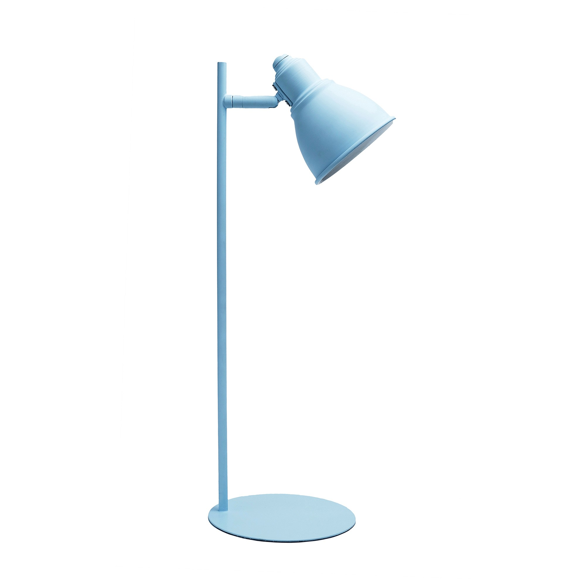 Kelvin Ultra Slim Iron Desk Lamp, Blue