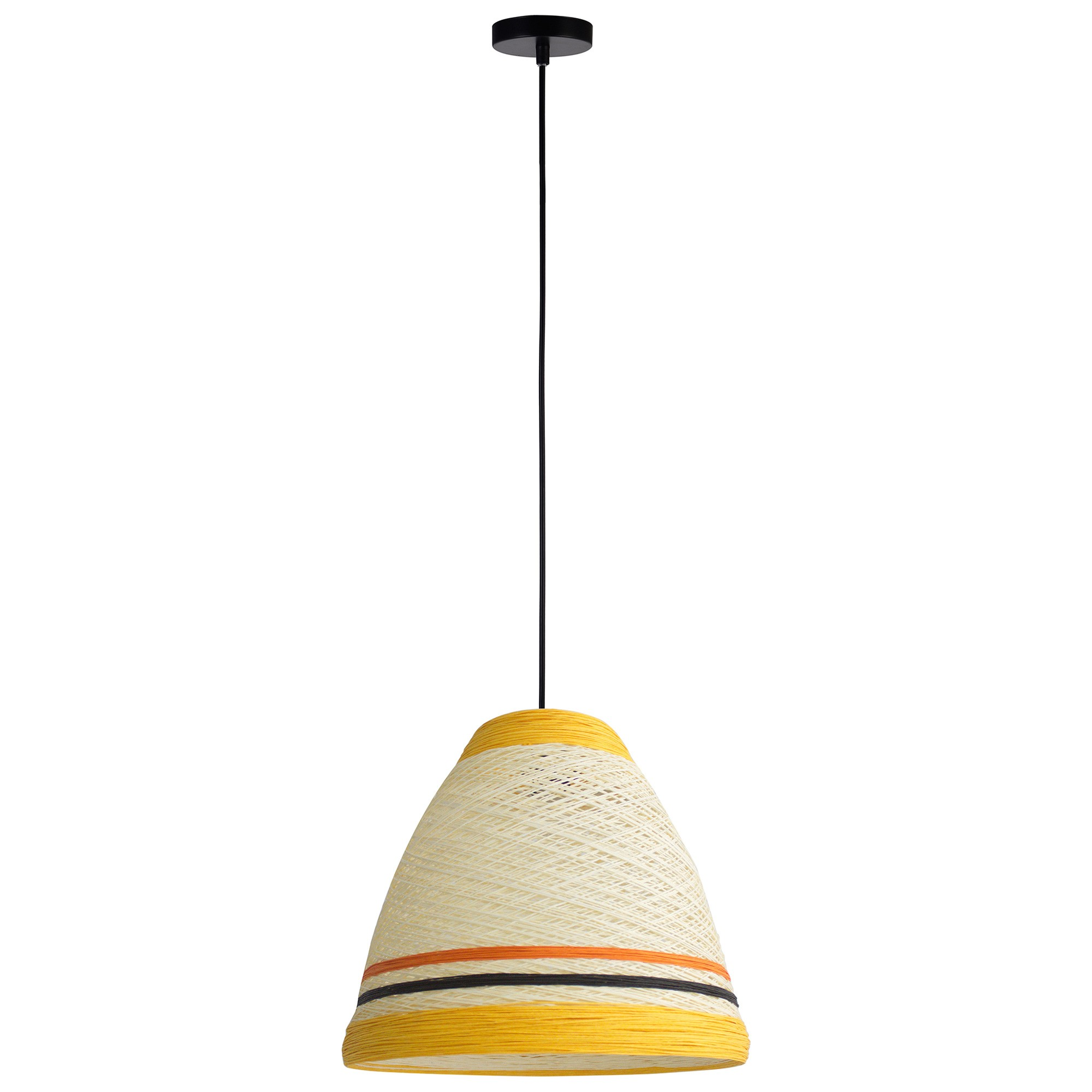Jane Paper Pendant Light, Yellow