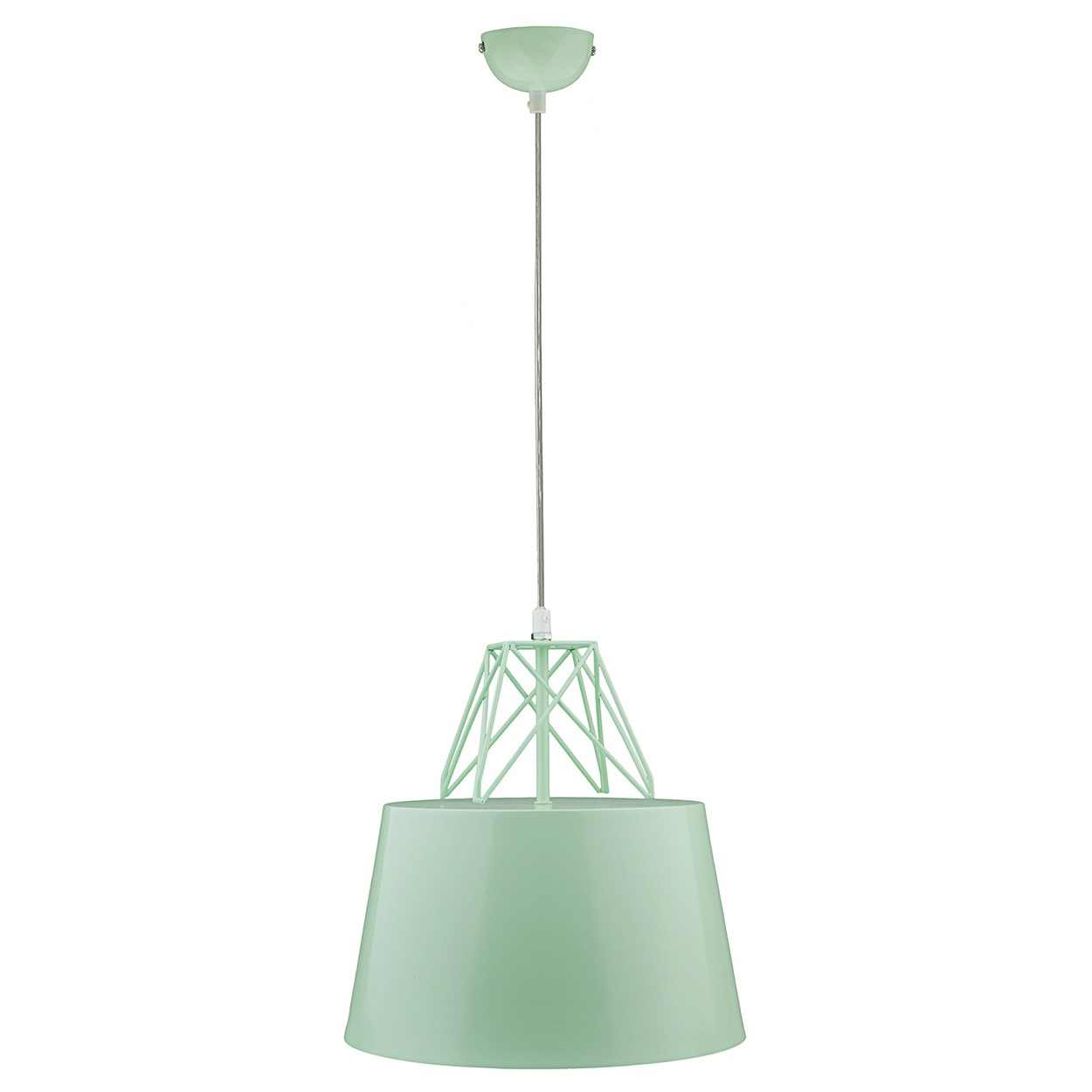 Kaelan Iron Pendant Light, Mint