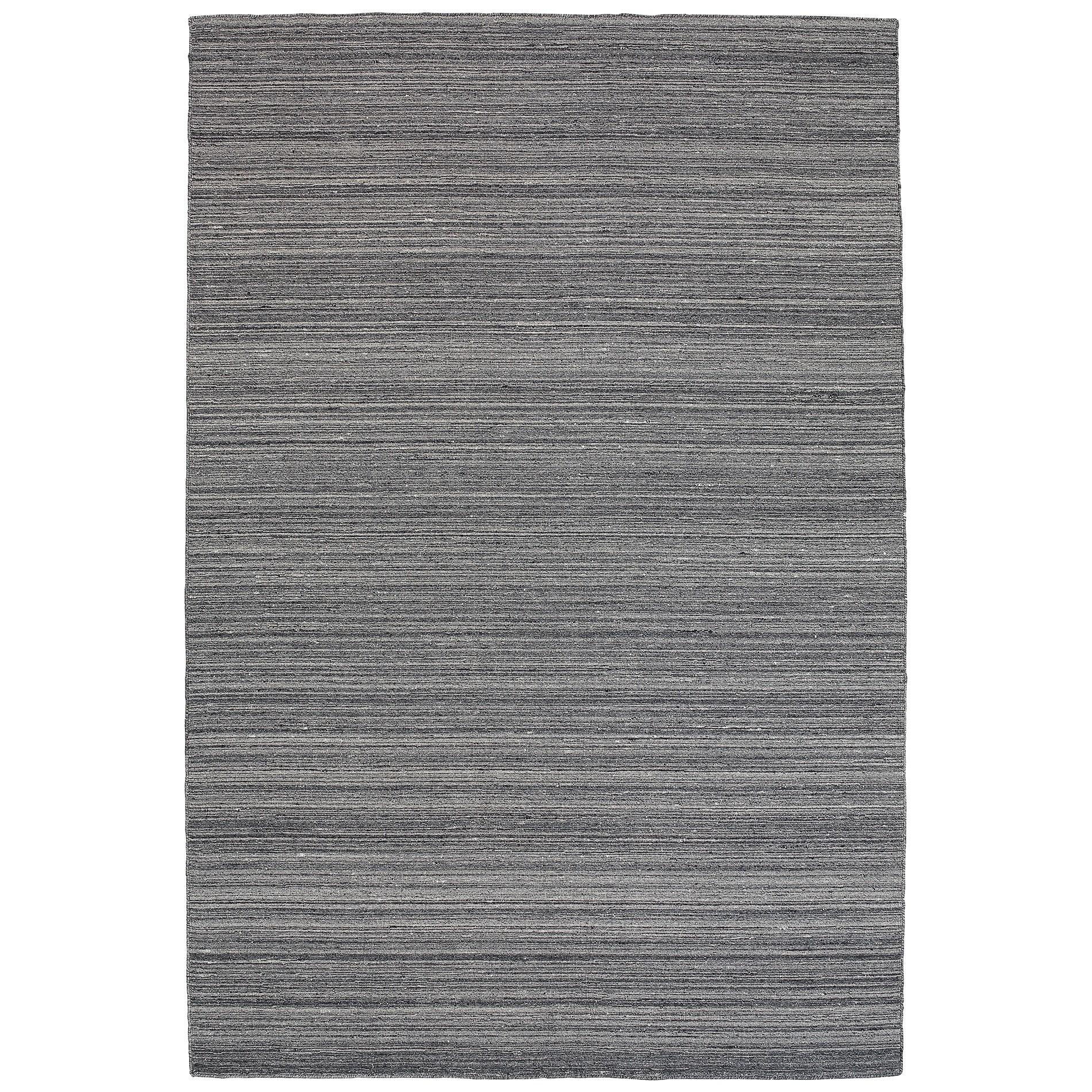 Loom Wool Rug, 330x240cm, Smoke