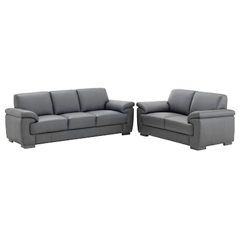 Levanzo 3+2 Split Leather Sofa Suite