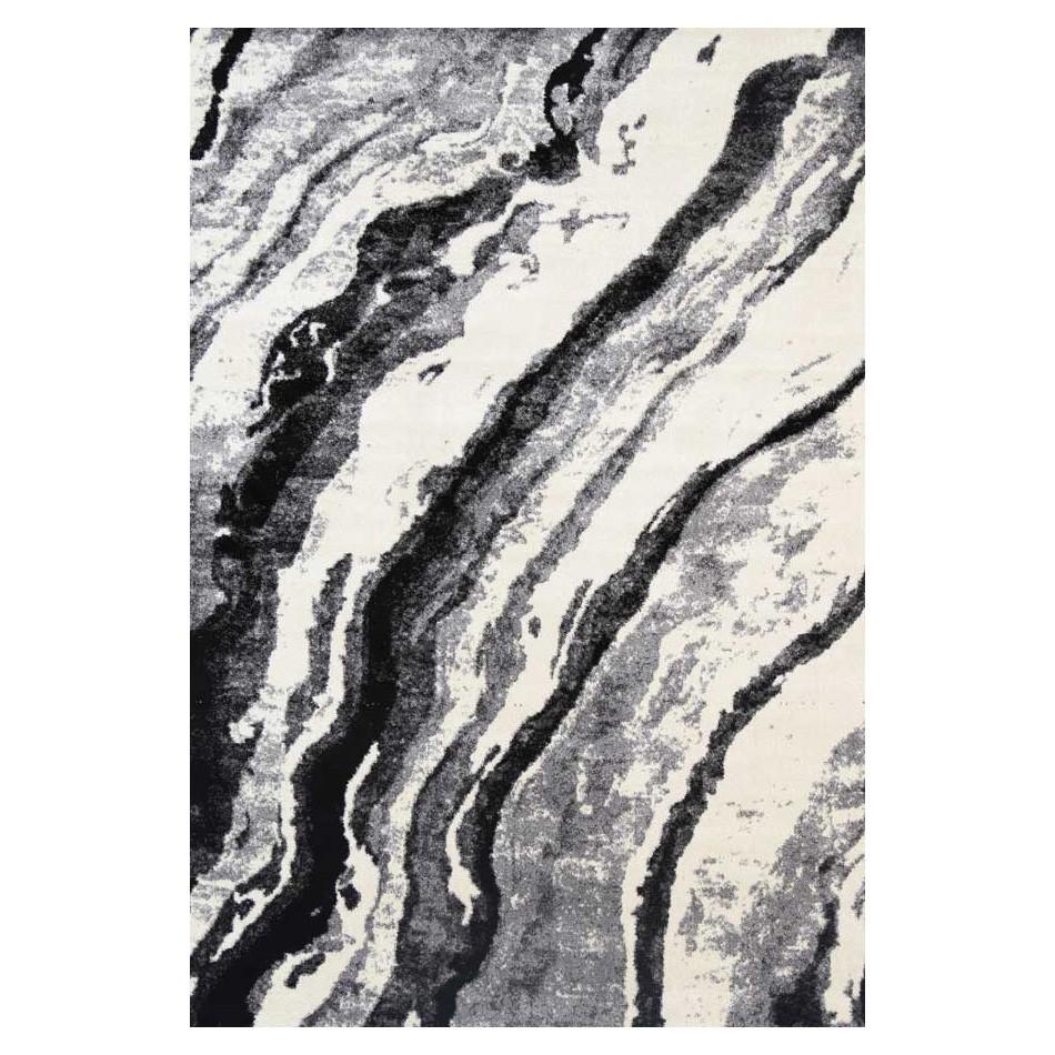 Lorenza Marble Modern Rug, 240x330cm