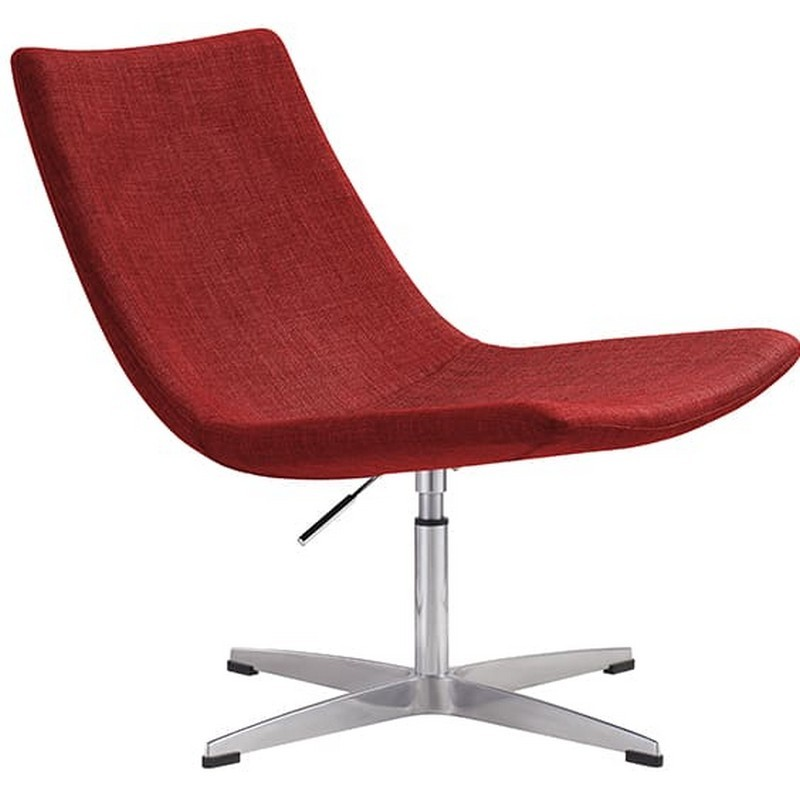 Lori Fabric Breakout Chair, Red