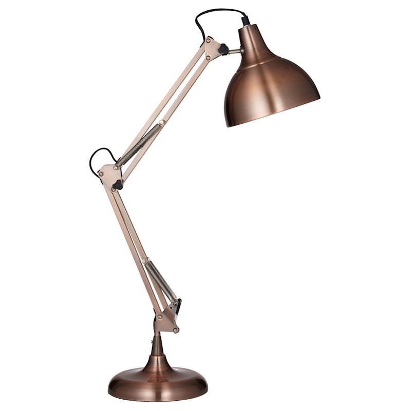 Sly Iron Table Lamp, Copper
