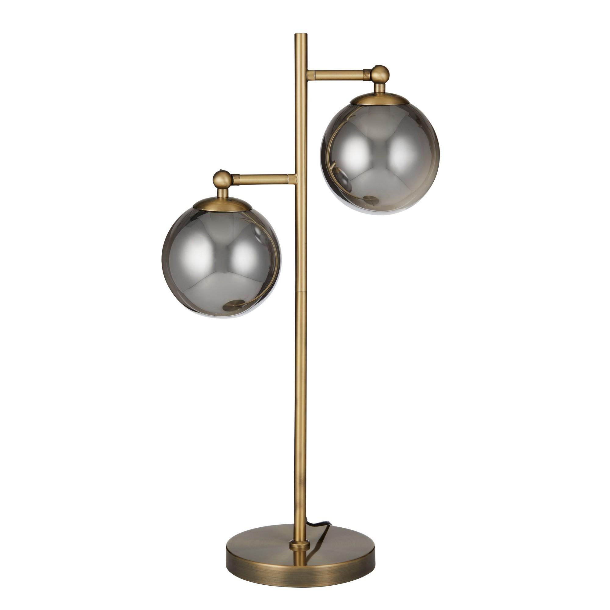 Milton Metal & Glass Table Lamp