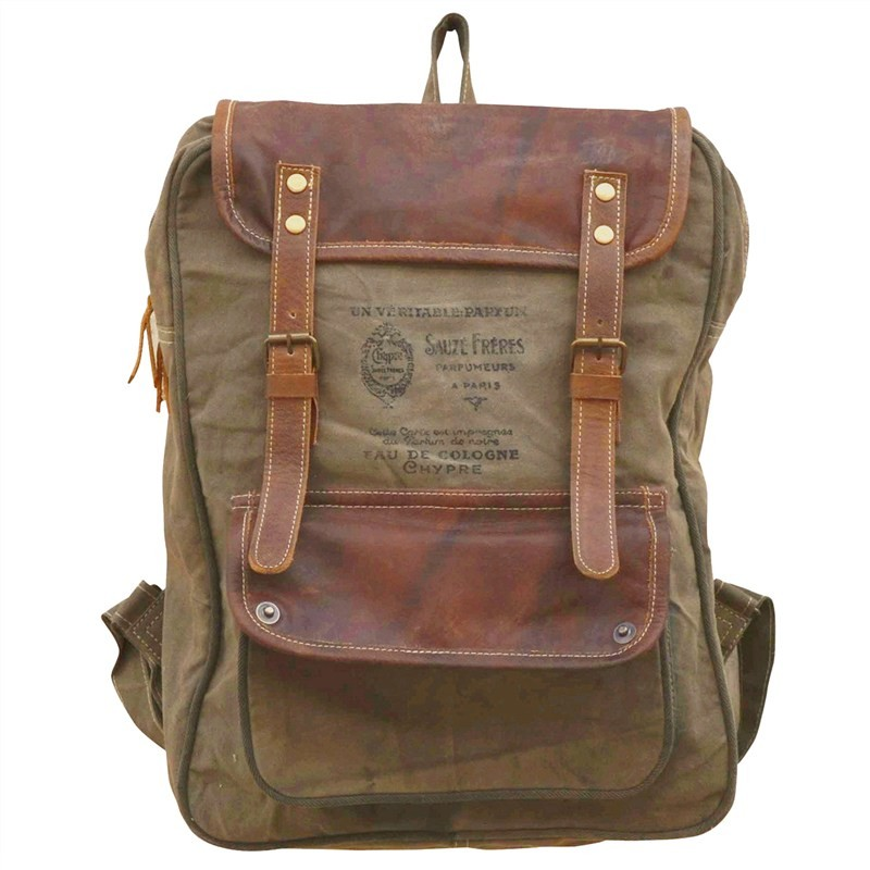 Eau De Cologne Canvas Backpack