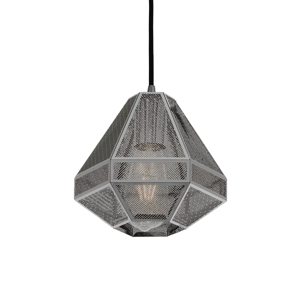 Magnus Metal Pendant Light, Small, Gunmetal