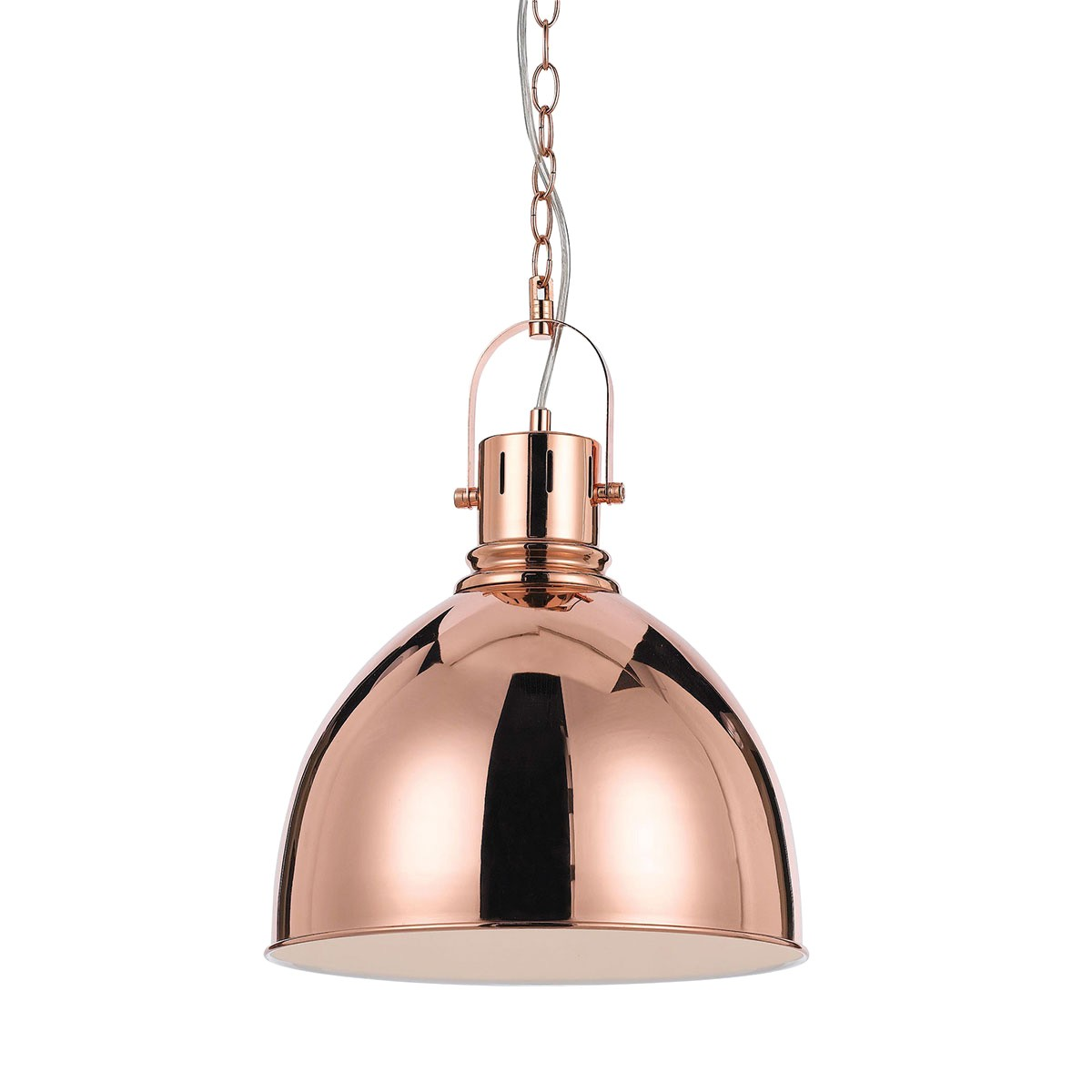 Market Metal Pendant Light, Copper