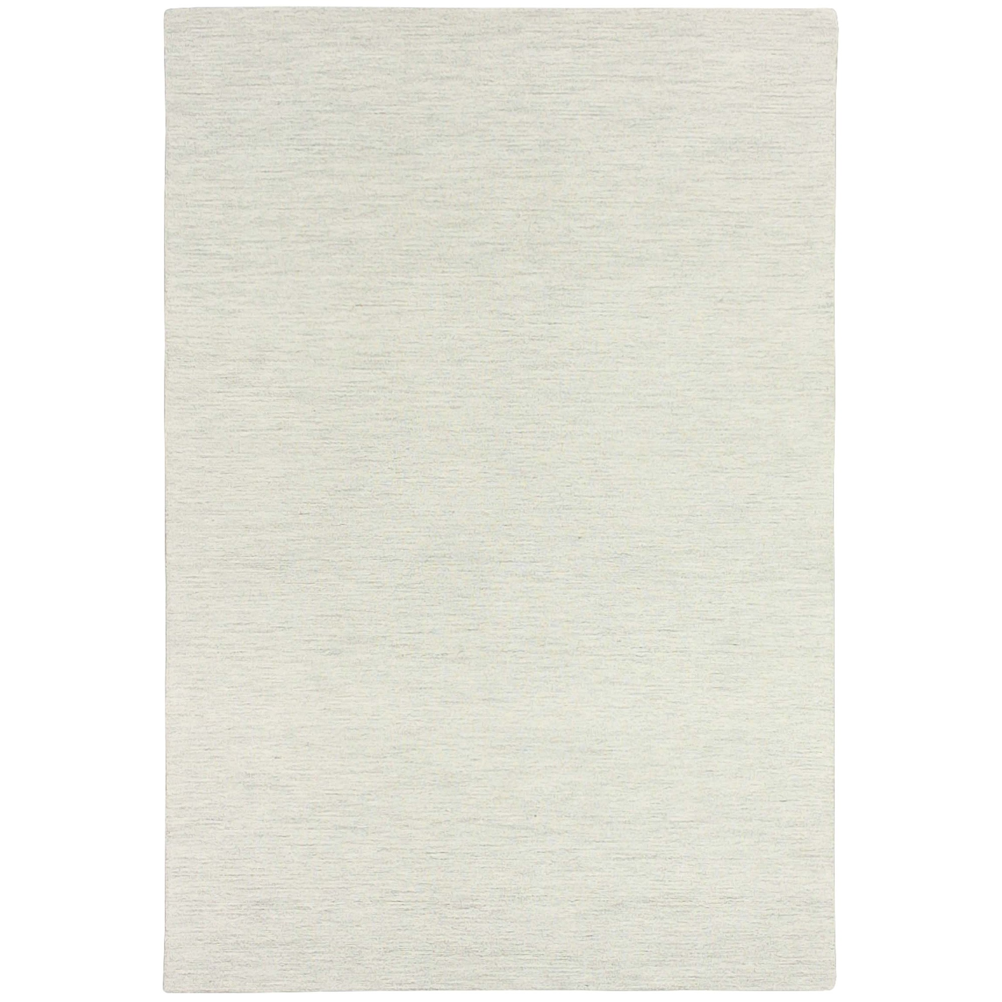 Marled Hand Tufted Wool Rug, 200x300cm, Snow