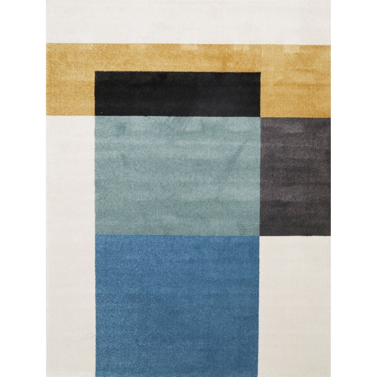 Matisse Colour Block Turkish Made Modern Rug, 200x290cm, Harmony