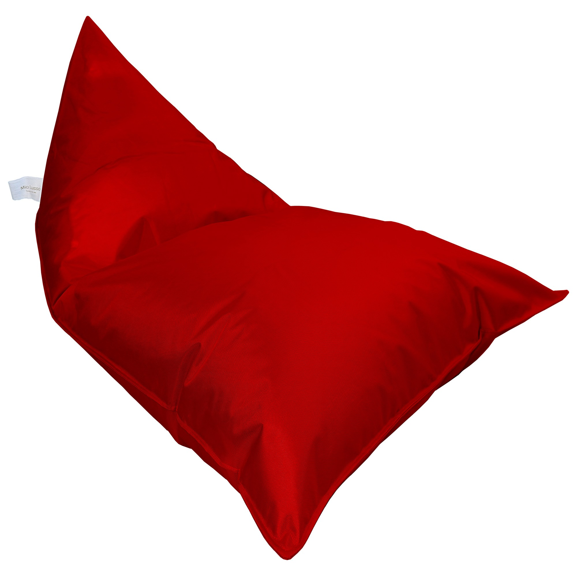 Malibu Fabric Indoor / Outdoor Bean Bag Cover, Red