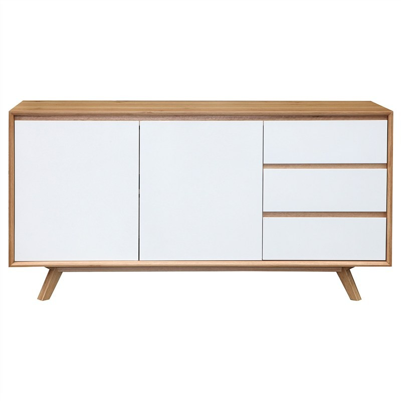 Sibil Wooden 2 Door 3 Drawer Buffet Table, 155cm