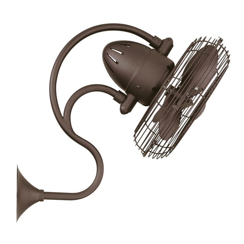 Atlas Melody Commercial Grade Wall Fan - Bronze