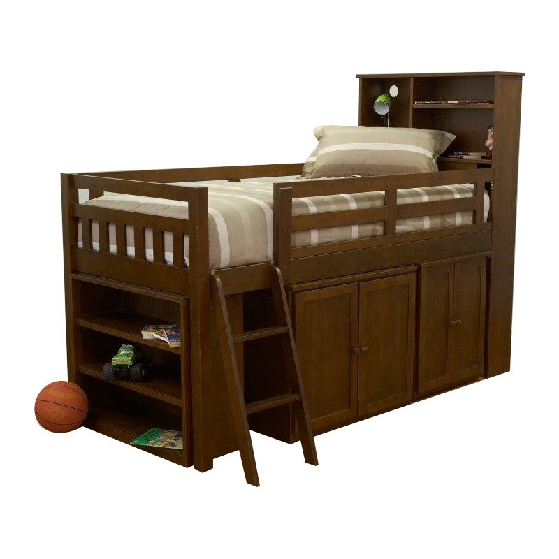 Merlin Timber Cabin Bed, Single